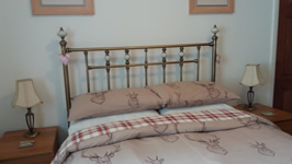 Double Bedroom at Mags Cottage self catering near Glencoe