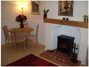 Fireplace in Self Catering Cottages near Glencoe
