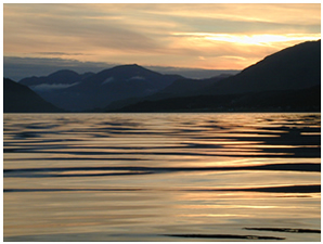 Golden Sunset - Self Catering Cottages near Glencoe