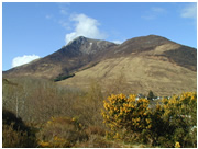 Sgurr Bhan in Ballachulish near Glencoe Scotland